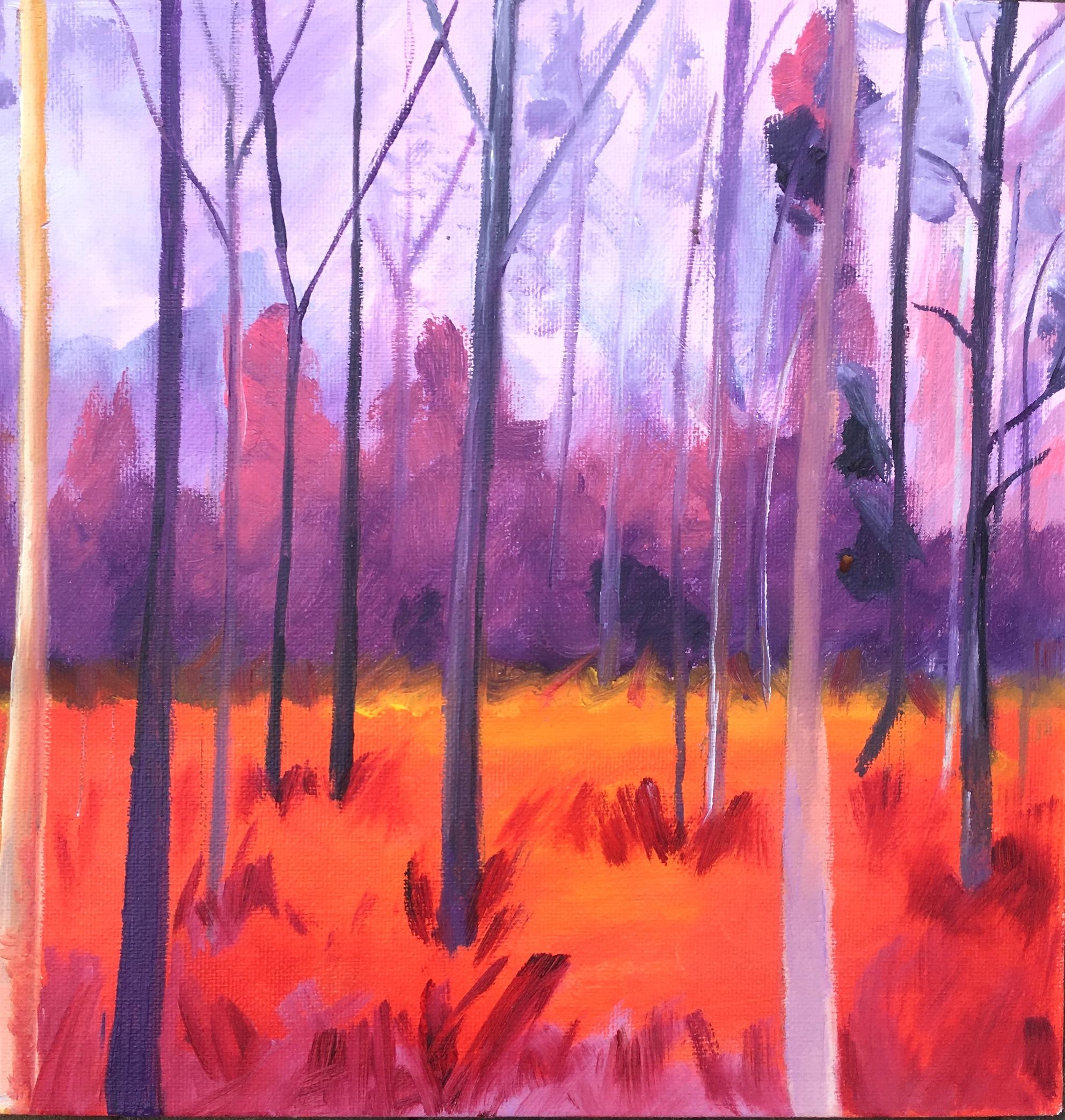 'Kleurige bomen':  op aanvraag