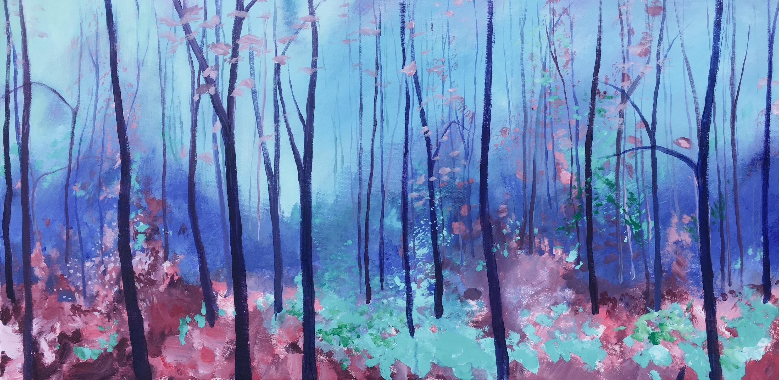 Bomen/landschap:  zaterdag 8 februari 2020