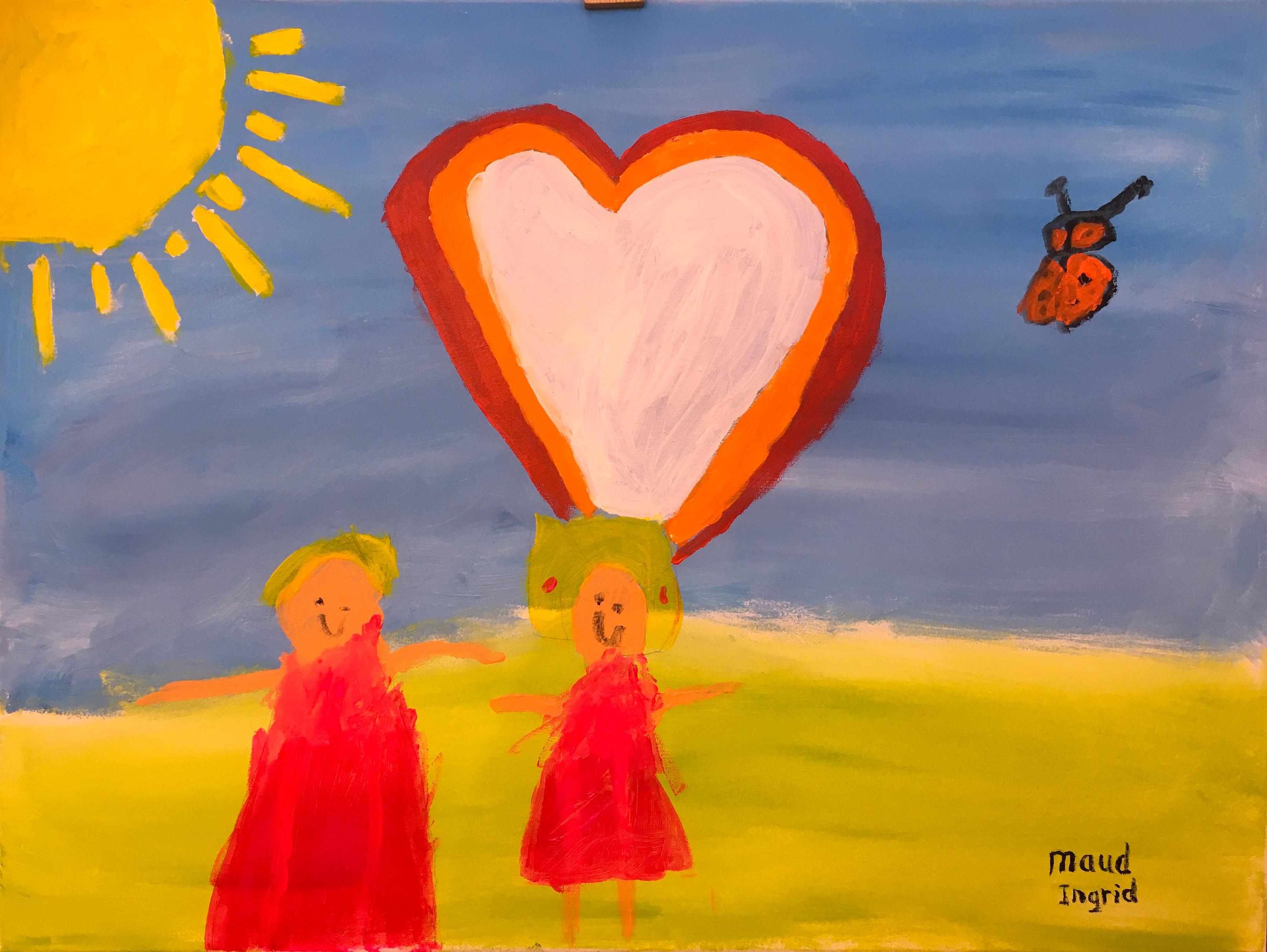 Kind-ouder schilderen:  zondag 1 maart 2020